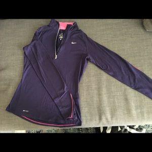 Nike Tops - Nike Dri-Fit Half Zip Pullover